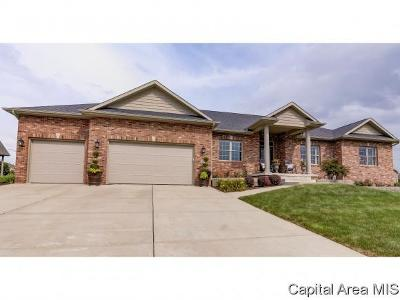 Springfield Single Family Home For Sale: 2604 Old Bachelor Trl
