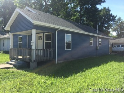 Auburn Single Family Home For Sale: 915 W Jackson