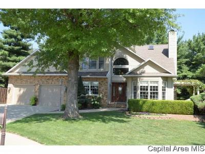 Mt. Sterling, Arenzville, Virginia, Chapin, Concord, Franklin, Jacksonville, Literberry, Meredosia, Murrayville, Waverly, Woodson, Winchester Single Family Home For Sale: 24 Nob Hill Dr