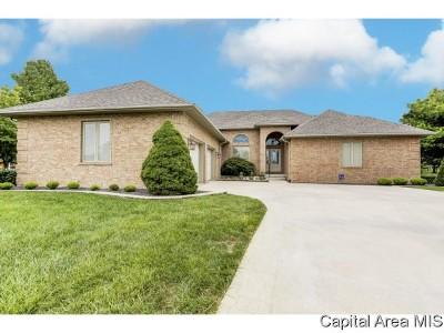 Springfield Single Family Home For Sale: 3116 Ironlake Circle