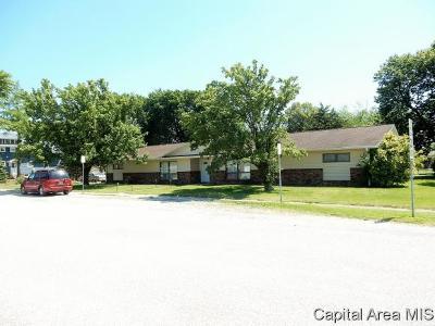 Morrisonville Multi Family Home For Sale: 102 N School St