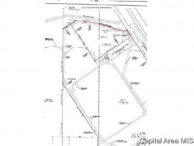 Taylorville Residential Lots & Land For Sale: 1500 Block W Springfield Road