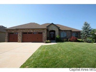 Springfield Single Family Home For Sale: 2817 Centennial Dr