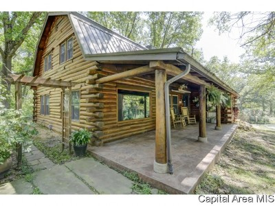 Cantrall Single Family Home For Sale: 3822 Camp Cilca Rd
