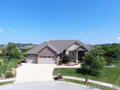 Springfield Single Family Home For Sale: 4600 Kingsbury Landing