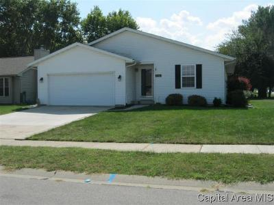 Springfield Single Family Home For Sale: 2600 Steiler Place