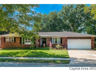Springfield Single Family Home For Sale: 3137 Temple Dr