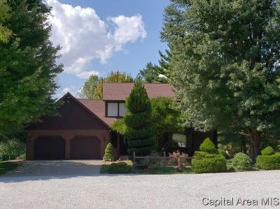 Pleasant Plains Single Family Home For Sale: 3591 State Route 97