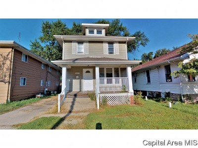 Springfield Multi Family Home For Sale: 1603 S 1st St