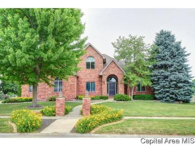 Springfield Single Family Home For Sale: 3709 Ginger Creek