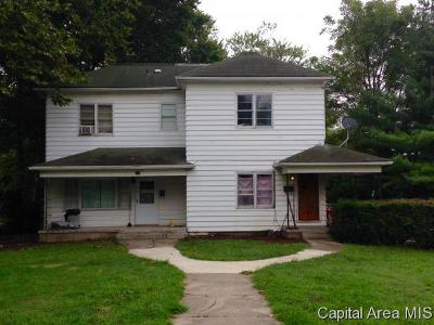 Jacksonville IL Multi Family Home For Sale: $42,000