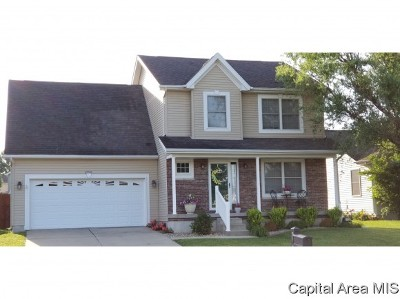 Springfield Single Family Home For Sale: 2916 Tanner Rd