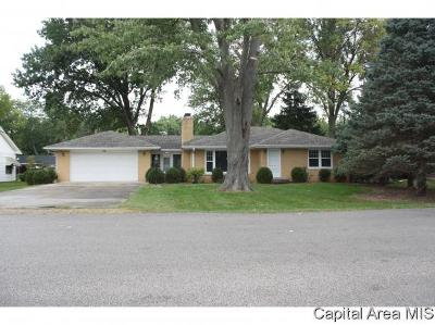 Springfield Single Family Home For Sale: 2149 Greenbriar Rd