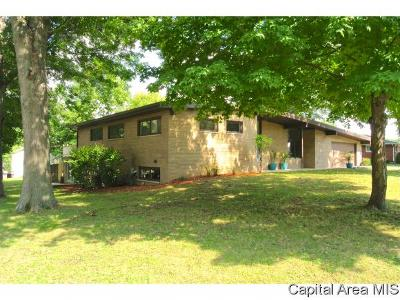 Pleasant Plains Single Family Home Pending Continue to Show: 523 Circle Drive