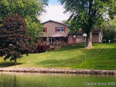 Menard County Single Family Home For Sale: 798 Pine Knob