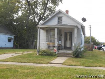 Springfield Single Family Home For Sale: 420 W Reynolds St