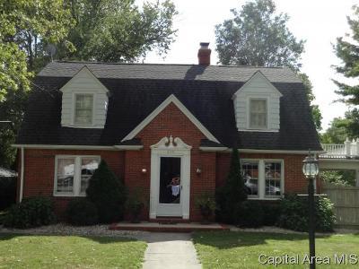 Jacksonville Single Family Home For Sale: 869 Edgehill