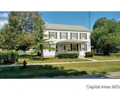 Virden Single Family Home For Sale: 231 W Hill St