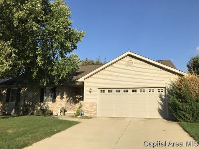 Springfield Single Family Home For Sale: 3504 Carnoustie Dr