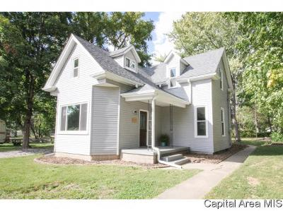 Athens Single Family Home For Sale: 505 W Madison St