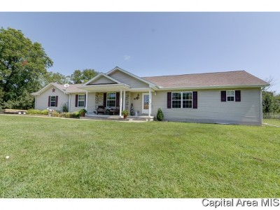 Athens Single Family Home For Sale: 22325 Clemens Road
