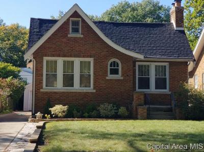 Springfield Single Family Home For Sale: 1929 S Walnut