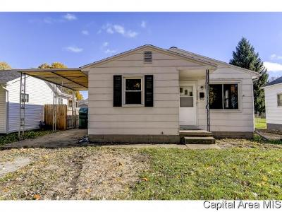 Springfield Single Family Home For Sale: 3104 S 13th St