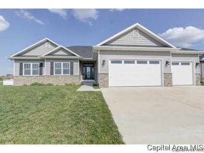 Springfield Single Family Home For Sale: 2804 Whiteside Pl