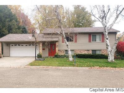 Jacksonville IL Single Family Home Pending Continue to Show: $119,900
