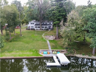 Sangamon County Single Family Home For Sale: 16 Long Bay