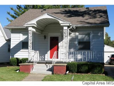 Springfield Single Family Home For Sale: 1108 N Macarthur Blvd