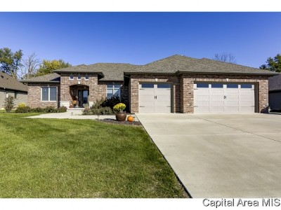 Chatham Single Family Home For Sale: 1809 Forest Gln
