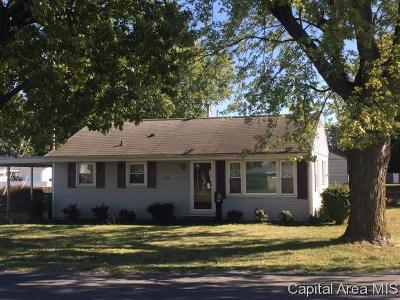 Single Family Home For Sale: 1126 N Lincoln
