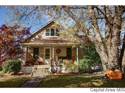 Virden Single Family Home For Sale: 527 S Church