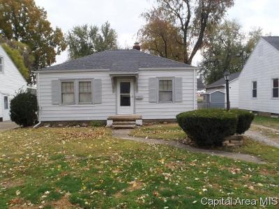 Springfield Single Family Home For Sale: 2840 S 4th St