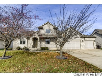 Springfield Single Family Home For Sale: 6501 Winterberry
