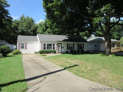 Springfield Single Family Home For Sale: 1127 Urban Ave