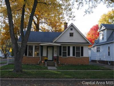 Springfield Single Family Home For Sale: 1327 S Walnut St