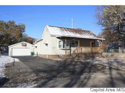 Springfield Single Family Home For Sale: 217 N Daniel Ave