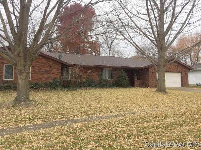 Springfield Single Family Home For Sale: 121 S Oxford Rd