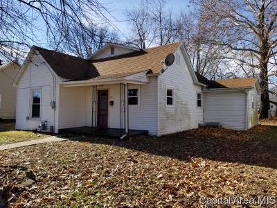Virden Single Family Home For Sale: 1151 N Noble St