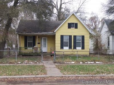 Springfield Single Family Home For Sale: 1414 E Brown St