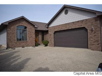 Jacksonville IL Single Family Home For Sale: $216,500