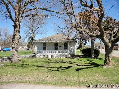 Taylorville Single Family Home For Sale: 400 N Ridge Ave