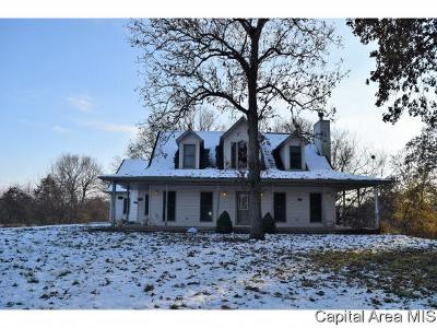 petersburg Single Family Home For Sale: 21901 Athens Blacktop Rd