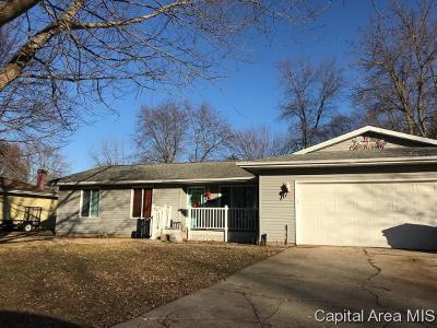 Pawnee Single Family Home For Sale: 34 Margaret Ct.