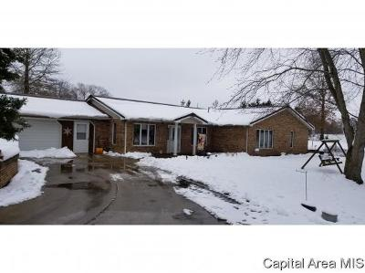 Carlinville Single Family Home For Sale: 10535 Remington Lane