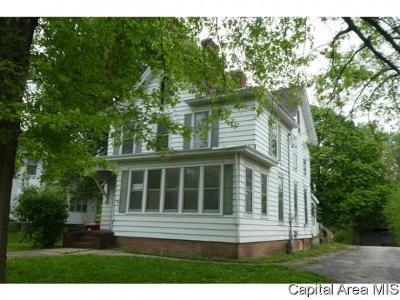 Jacksonville Single Family Home For Sale: 800 W Douglas