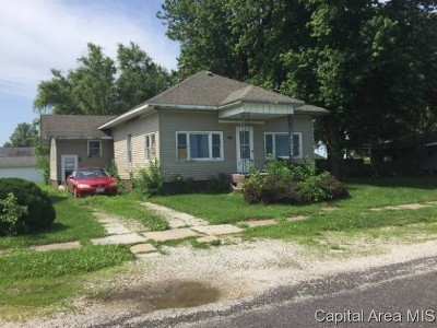 Tovey IL Single Family Home For Sale: $31,497