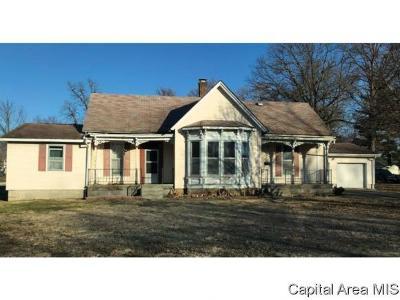 Girard Single Family Home For Sale: 616 W Monroe St